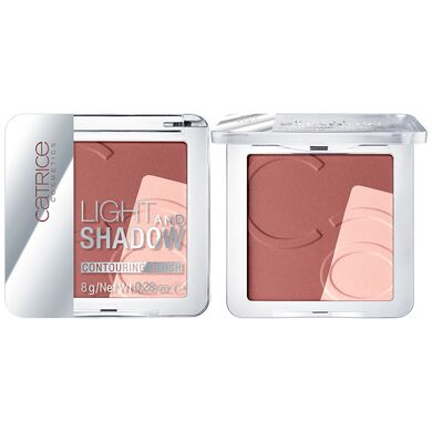 CATRICE -  Контурирующие румяна Light And Shadow Contouring Blush 010 Bronze Me Up, Scotty!
