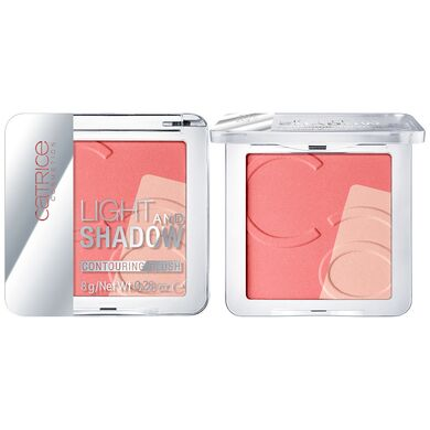CATRICE -  Контурирующие румяна Light And Shadow Contouring Blush 020 A Flamingo In Santo Domingo