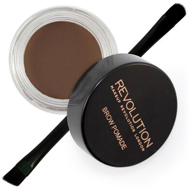 MAKEUP REVOLUTION - Помадка для бровей Brow Pomade - Dark Brown